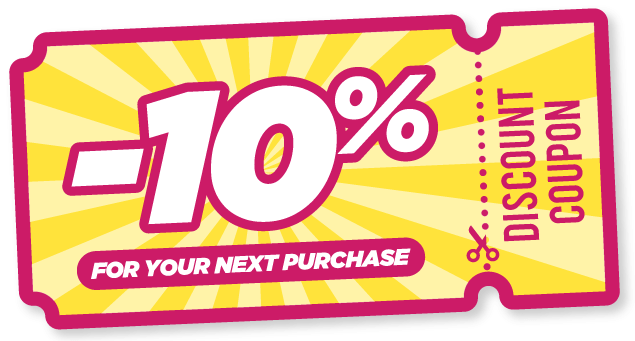 -10% discount on your next purchase
